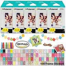Polaroid PIF300 Instant Film (100 Sheets) Bundle Fujifilm Instax Mini and PIC300