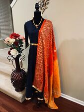 Designer Custom Stitched Cotton Fully Lined Anarkali Gown SALE !! Size 42/44