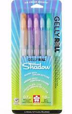 Sakura Gelly Roll Silver Shadow Pen Set - Outlining Gel Ink - 5 Colors - 58530