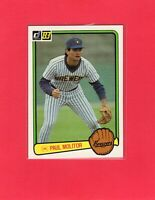 1983 Donruss baseball  #484  PAUL MOLITOR  Milwaukee Brewers Hall of Fame