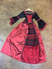 Medieval Fancy Dress/Cosplay Full Length Dress One Size