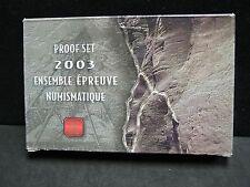 2003 Canadian Double Dollar Prestige Set - Original Box/COA