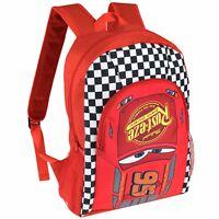 Disney Cars Backpack | Kids Disney Cars Rucksack | Boys Cars Lightning McQueen