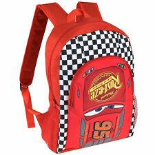 Disney Cars Backpack | Kids Disney Cars Rucksack | Boys Cars Lightning McQueen