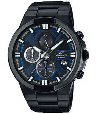 Casio Edifice Black Chronograph Stainless Steel Men's Watch EFR-544BK-1A2