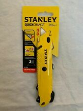 Stanley Hand Tools 10-499 QuickChange Retractable Utility Knife…