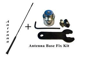 "16"" ANTENNA MAST + Radio Antenna Base Repair Kit for GMC Chevy Buick Cadillac"