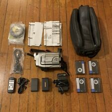 Vintage Jvc Compact Super Vhs Camcorder Video Camera Gr-Sxm920U Accessories Euc