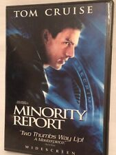 """Minority Report"" with Tom Cruise Widescreen 2 Disc - Dvd"