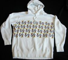 UNIQLO Mickey Mouse Graphic White Hoodie XL COMFY!!