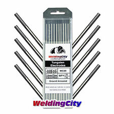 "10-pk TIG Welding Tungsten Electrode 2% Ceriated (Gray) 1/16""-3/32"" 