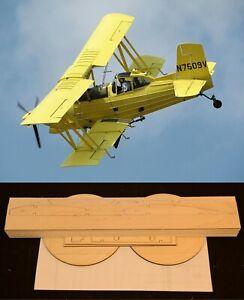 """90"""" Ws Grumman AG CAT R/c Plane partial kit/short kit and plans, PLEASE READ!"""