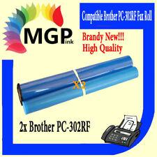 2X PC-302RF 302RF PC302 Fax refill Rolls for Brother 870MC 920 921 925 930 931
