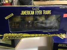 Lionel American Flyer 6-48549,UNION PACIFIC GONDOLA CANISTERS New S scale 3/16