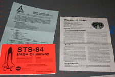 Vintage NASA Space Shuttle Program Press Kit STS-84