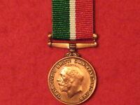 Miniature WW1 World War 1 Mercantile Marine War Medal with ribbon
