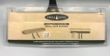 Grill Zone Small Bar Burner for 2 Control Knobs. Universal Fit for Small Grills.