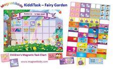 Magnetikids Kiddi Task - Childrens Magnetic Task Chart (Fairy Garden)