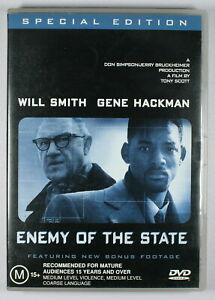 Enemy of the State DVD Special Edition FREE POST