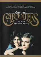 Carpenters DVD Especial 40 Anos The Live History Brand New Sealed