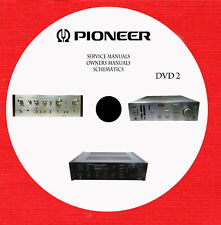 Pioneer Audio Video Service and owner manuals dvd 2 of 7 in pdf format