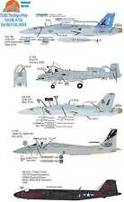 Wolfpak Decals 72-082 Dogs of war bombers Boeing Canberra thunderbolt F-15 eagle