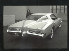 1972 BUICK RIVIERA BOAT TAIL CAR DEALER ADVERTISING POSTCARD COPY
