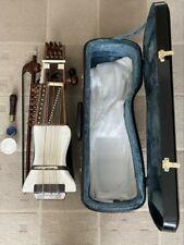 More details for classical professional sarangi handmade indian string instrument raj musicals