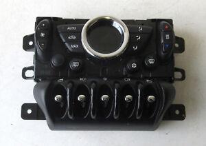 Genuine MINI Black Air Con Climate Control & Window Switches for R56 R55 LCI #19