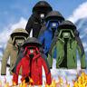 Men's Winter Ski Jacket Coat Snow Waterproof Windbreaker Fleece Warm OuterweBE