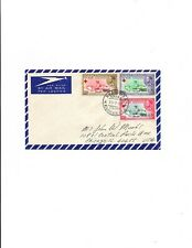 Ethiopia  1959 FDC Sc#B33 to B35 RED CROSS