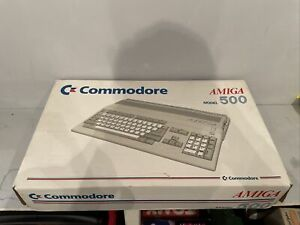 Commodore Amiga A500 Computer - Boxed and working
