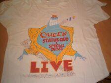 Vintage Queen Event T Shirt Magic Tour 1986 Size large