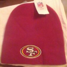 MY NFL TEAM APPAREL CUFFLESS KNIT BEANIE/TOQUE  - SAN FRANCISCO 49ERS - OSFA