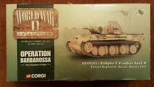 Corgi WWII PzKpfw V Panther Ausf.D Panzer Regiment Kursk Russia 1943 CC60201