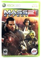 Mass Effect 2 Game For Microsoft Xbox 360 Rated M - Pre-Played & Resealed EA