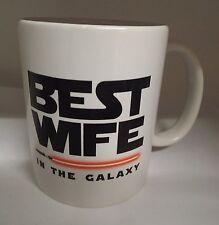 Best Wife in the Galaxy Star wars 11oz funny novelty ceramic mug Valentines day