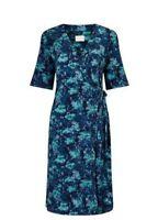 East Marie Print Jersey Women's Dress, Teal /Blue - Size 10 & 12 - BNIP -RRP £79