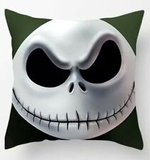 """18""""x18"""" Nightmare Before Christmas Pillow Cover Case Cushion - Jack Skellington"""