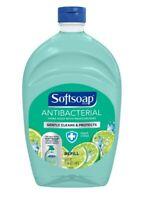 "Softsoap ANTIBACTERIAL Liquid Soap 50 fl oz Refill Bottle ""Fresh Citrus"" Scent"