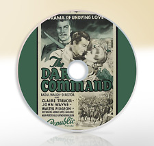 The Dark Command (1940) DVD Classic Western Movie Film John Wayne Claire Trevor