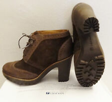 NWT Sperry Top-Sider Brown Leather Ankle Boots