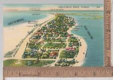 VINTAGE UNUSED POST CARD PASS A GRILLE BEACH, FL