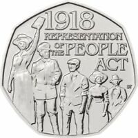 Representation of the People Act 2018 UK 50p Coin UNCIRCULATED