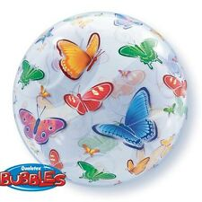 Party Supplies Butterflies 56 cm Bubble Balloon