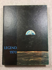 1970 Legend Yearbook Ovid - Elsie High School Michigan Genealogy Annual History