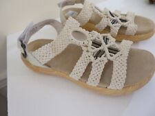 ALEGRIA BRAIDED DETAIL SANDALS SHOES JENA NEW 35 FITS 5 TO 5.5