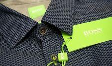 NEW $165 Hugo Boss Modern Fit Blue Shirt Mens Bagata 50320143410 Long Sleeve NWT