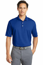Nike Dri-FIT Golf Polo Moisture Casual Business Collar Shirt 363807 Blue L