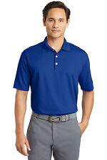 Nike Dri-FIT Golf Polo Moisture Casual Business Collar Shirt 363807 Blue L